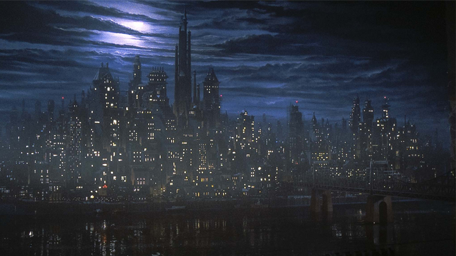 Tim Burton Batman Gotham City