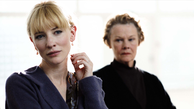 Cate Blanchett Notes on a Scandal Judi Dench