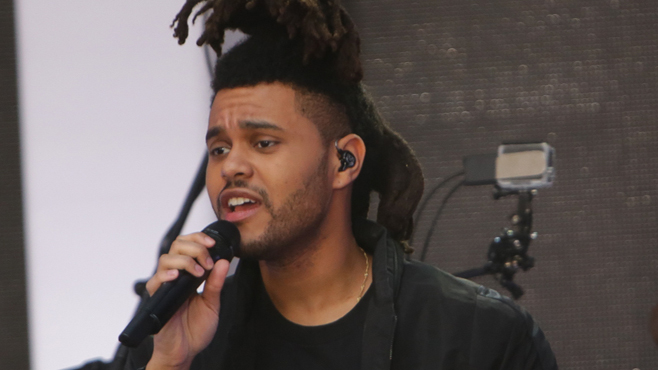 The Weeknd performs his smash hit single 'Earned it' on The Today Show