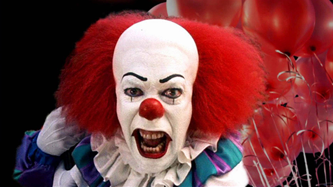 Pennywise The Clown Tim Curry Stephen King It Will Poulter