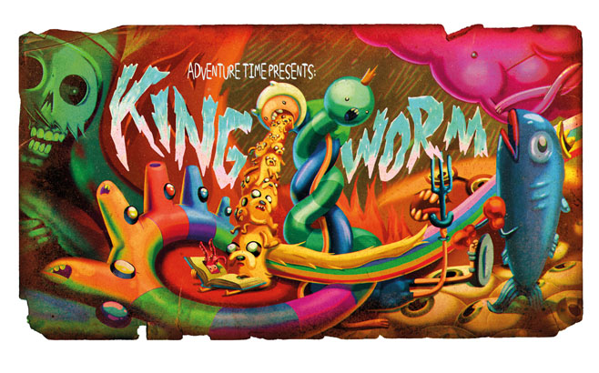 Adventure Time King Worm