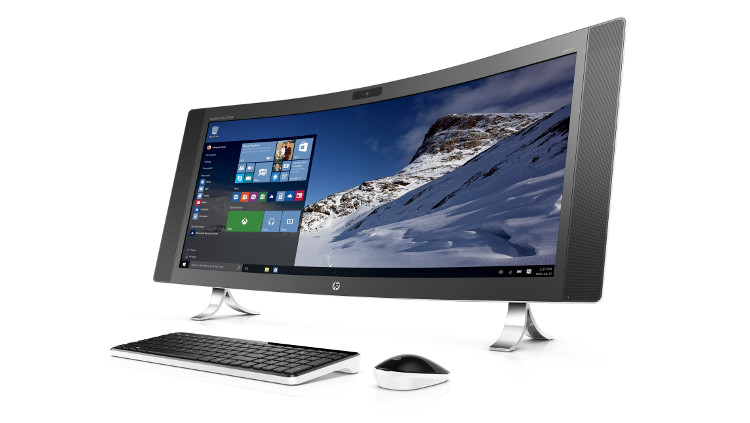The HP Envy Curved All-in-One PC is the Best-Looking ...