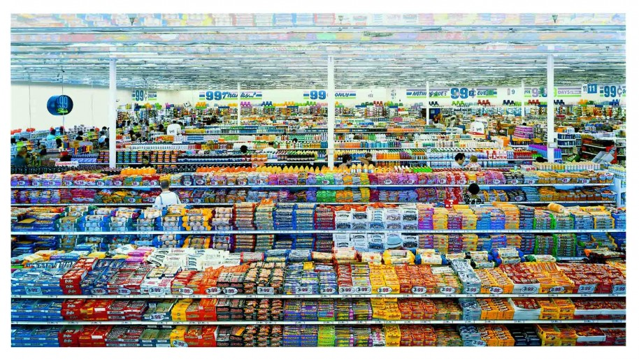 99 Cent II Diptychon © Andreas Gursky