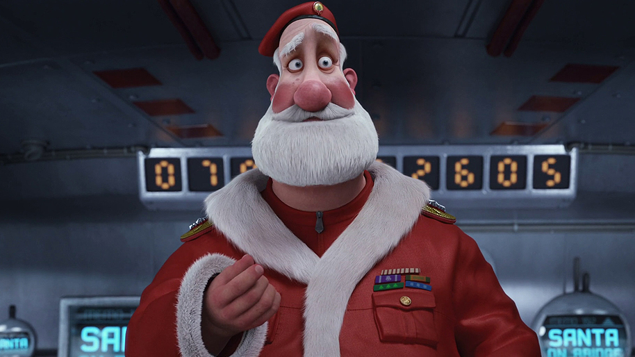 Jim Broadbent Santa Claus Arthur Christmas