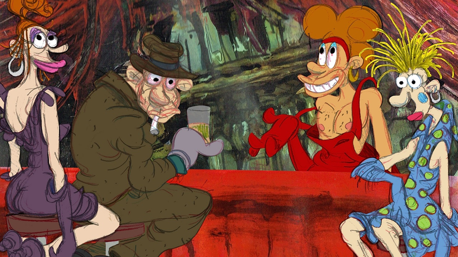 Last Days of Coney Island Ralph Bakshi Bakshi Productions Incorporated