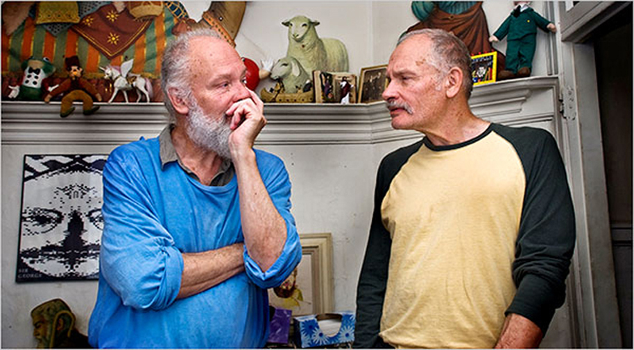 Mike Kuchar (left) and George. Photo by Patrick Siemer/Indie Pix
