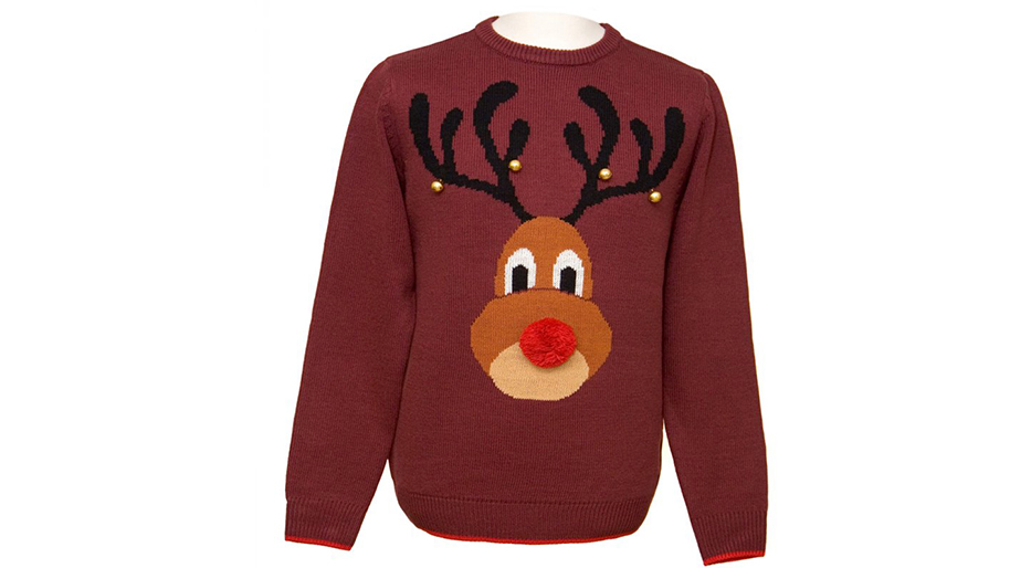 Ugly Rudolph Christmas Sweater