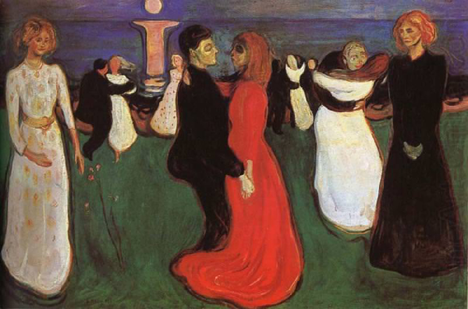 "Munch's ""The Dance of Life)"