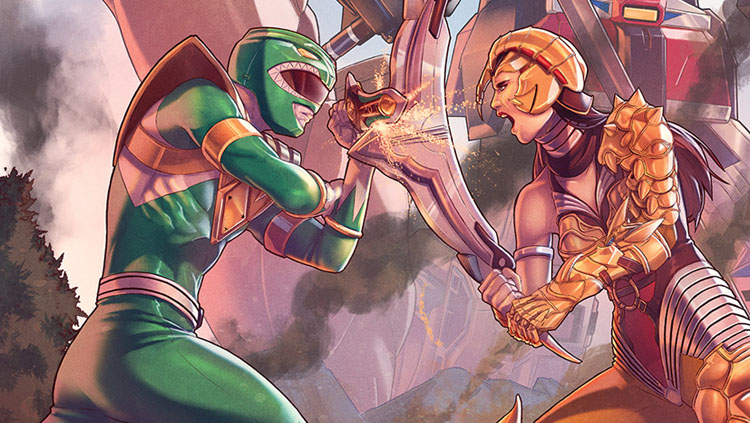 Exclusive Preview Mighty Morphin Power Rangers 2