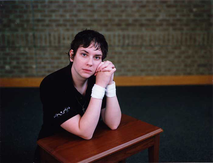 Kristen S. Wilkins, Woman in Montana prison, from the series Supplication. Courtesy the artist.