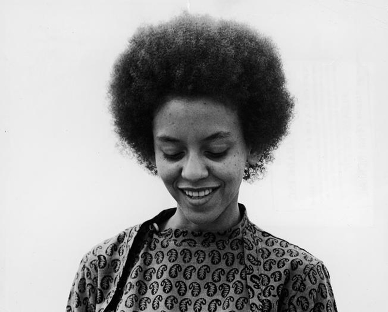 Nikki Giovanni circa 1968. Photo by Pictorial Parade / Getty Images