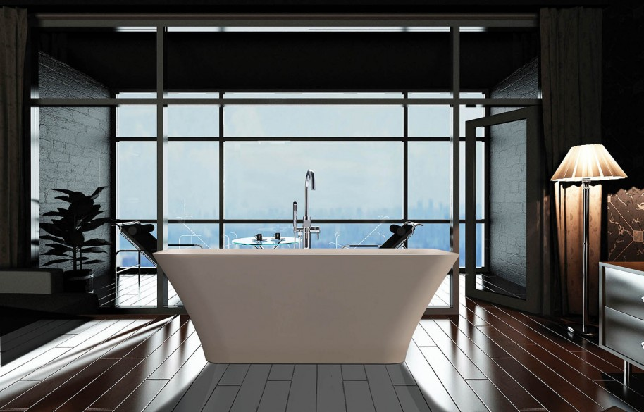 MTI Baths Debut Addison 5 at ICFF 2016.