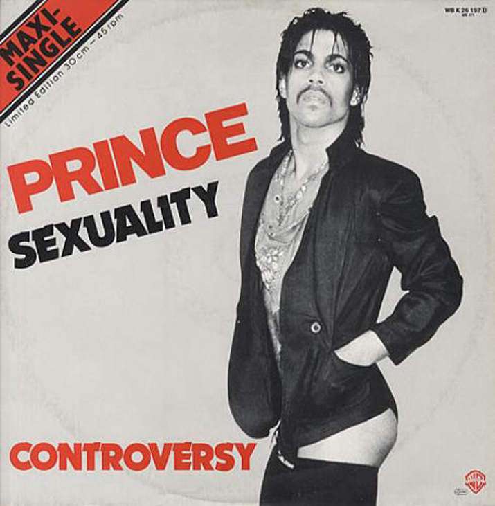 "The sleeve for ""Sexuality"" single."