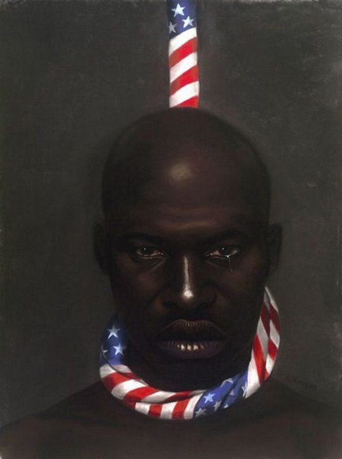 """""""Black Man In America,"""" by Laurie Cooper"""