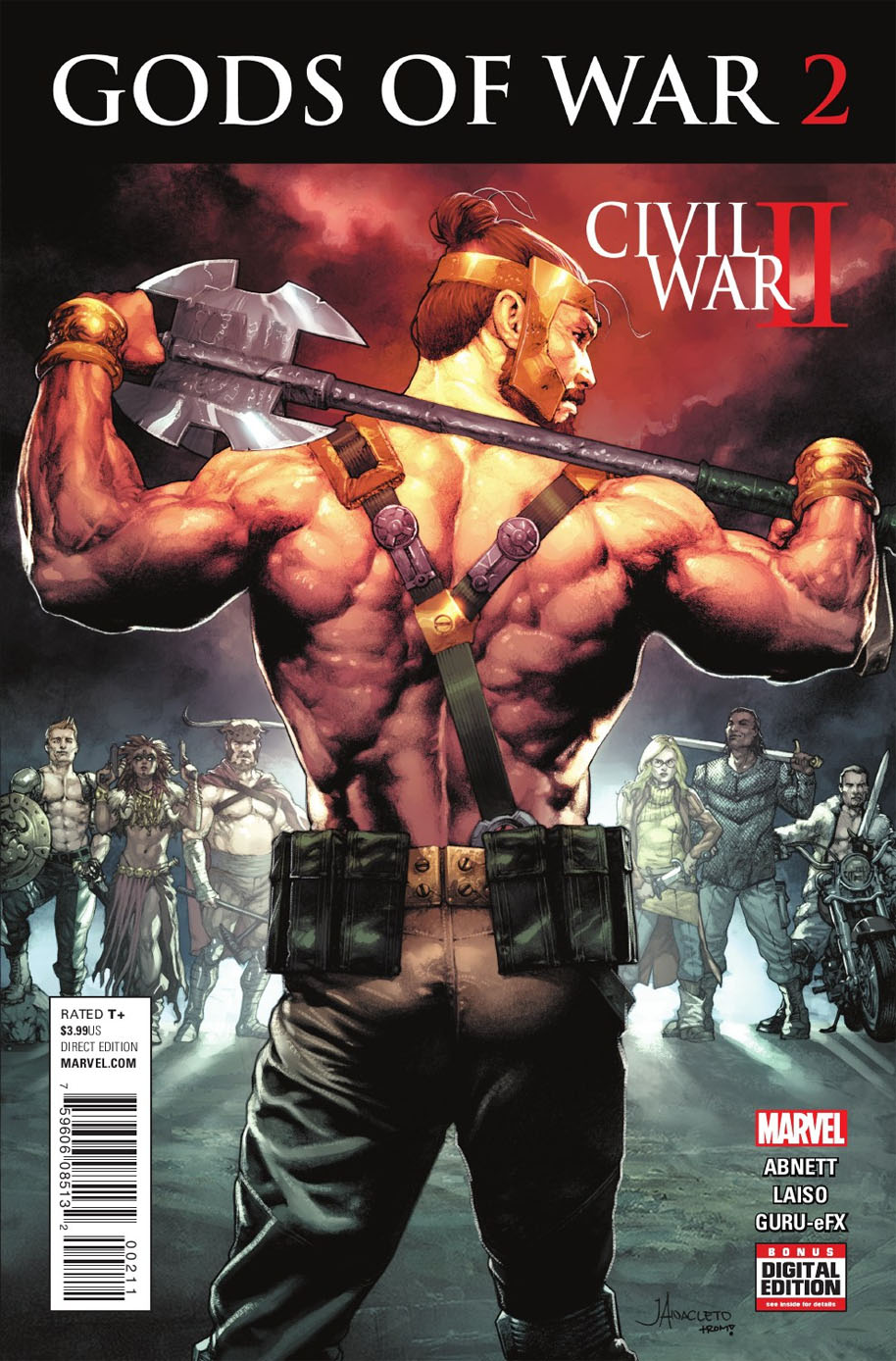 Civil War II Gods of War 2 cover
