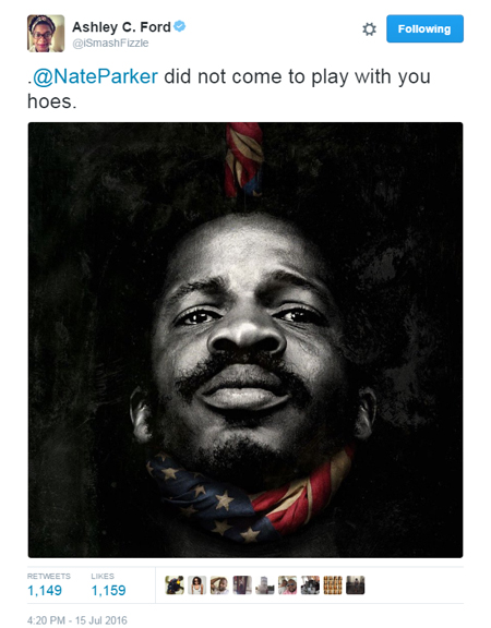 Nate Parker Ain't Playing