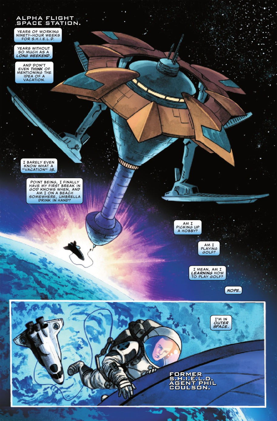 Agents of SHIELD 8 Page 1