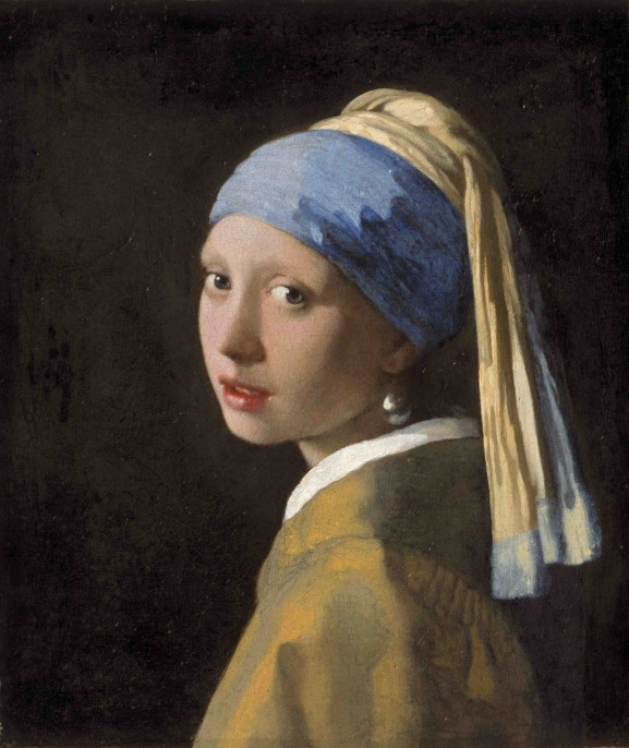 Johannes Vermeer. Girl with a Pearl Earring, c. 1665. Mauritshuis, The Hague