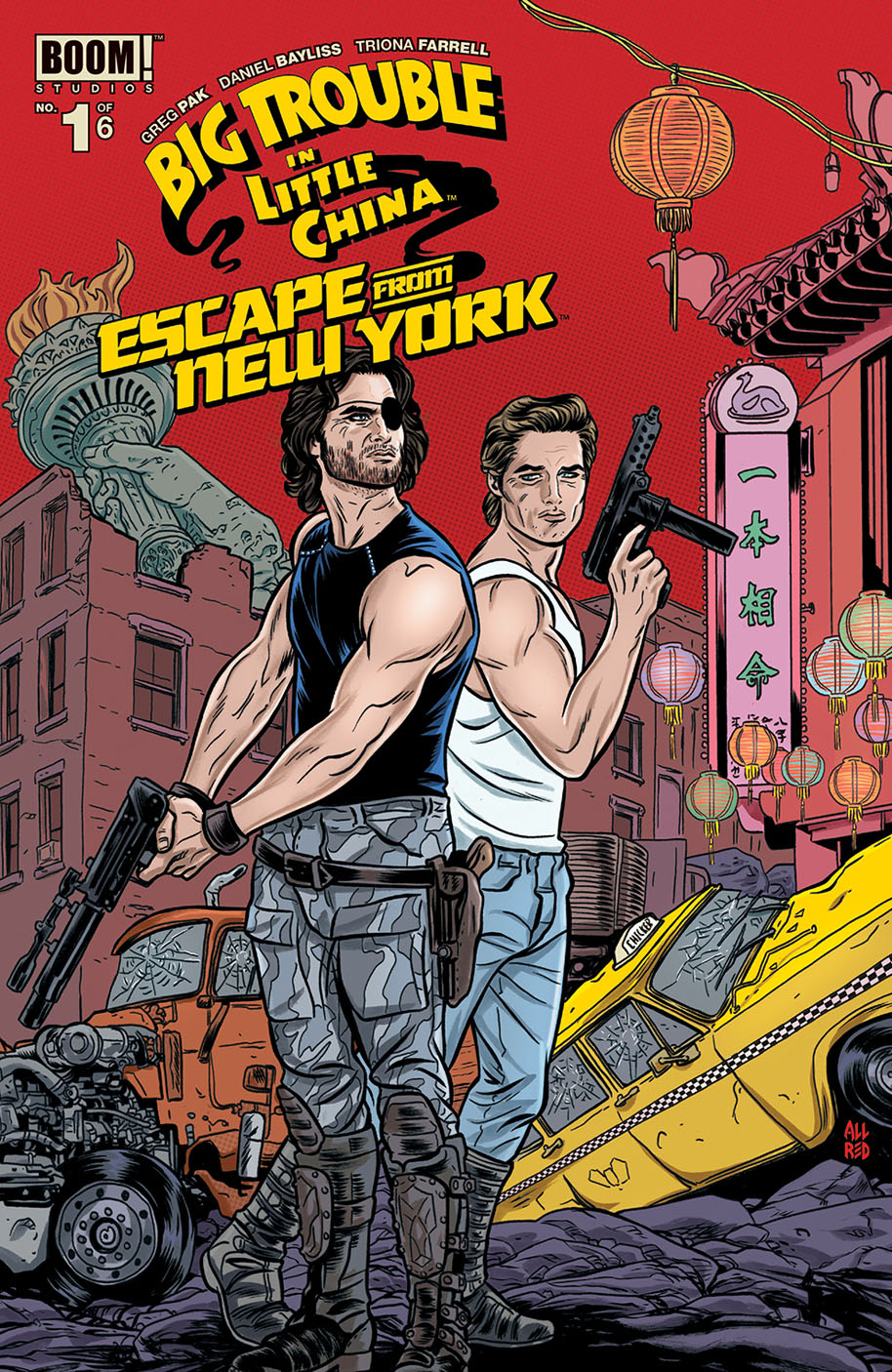 Big Trouble Escape NewYork 001 subscription cover
