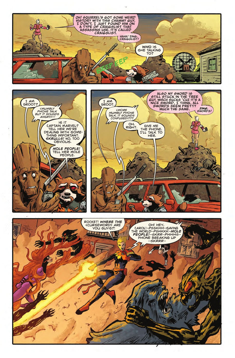 Rocket Raccoon and Groot 9 page 2
