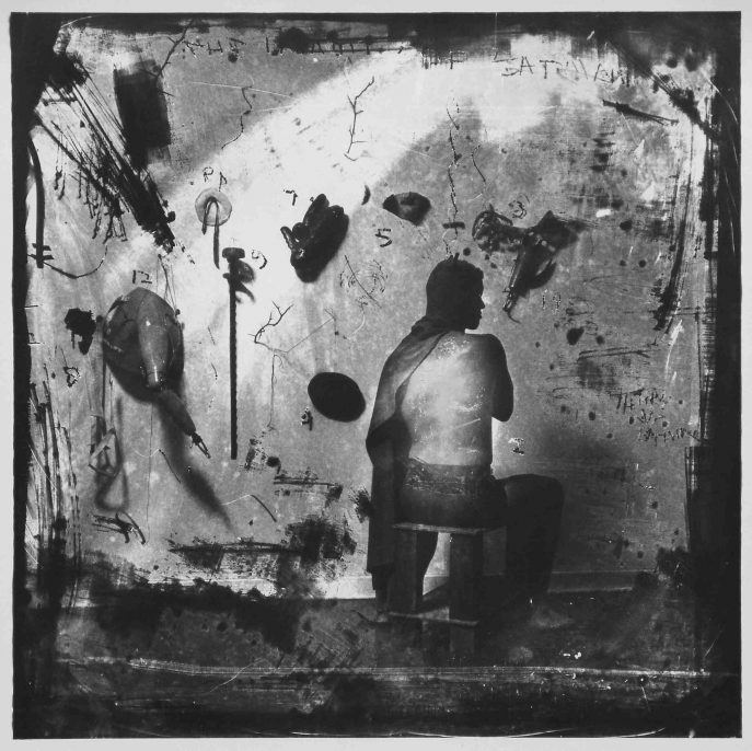 The Sins of Joan Miro, New Mexico, 1981, toned gelatin silver print