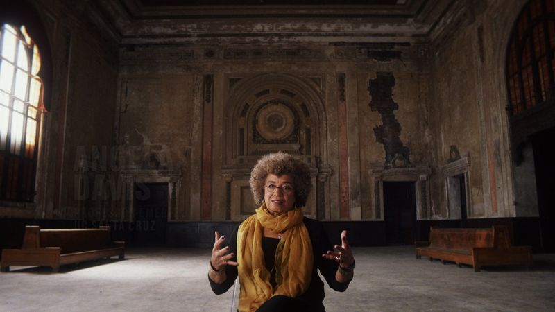 Angela Davis, courtesy of Netflix
