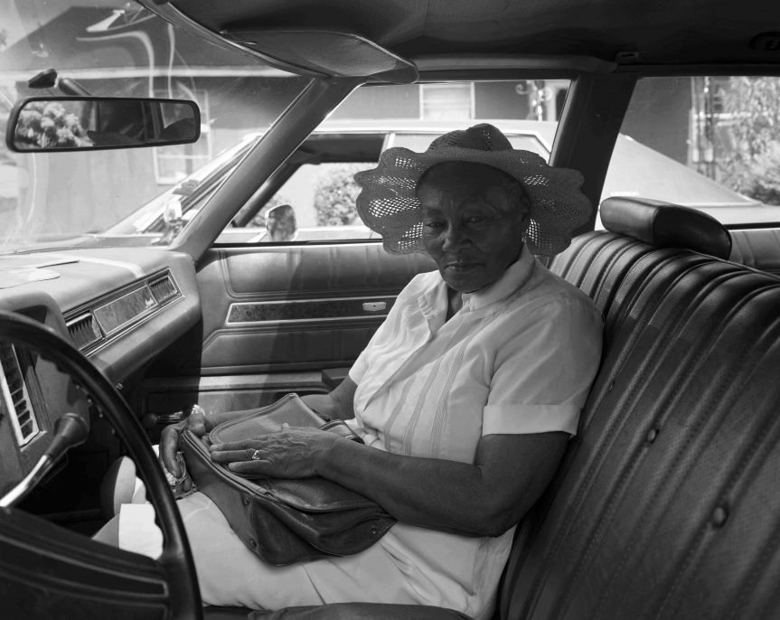 Woman in Hat, Lula, MS 1984, Baldwin Lee, image courtesy of The Do Good Fund