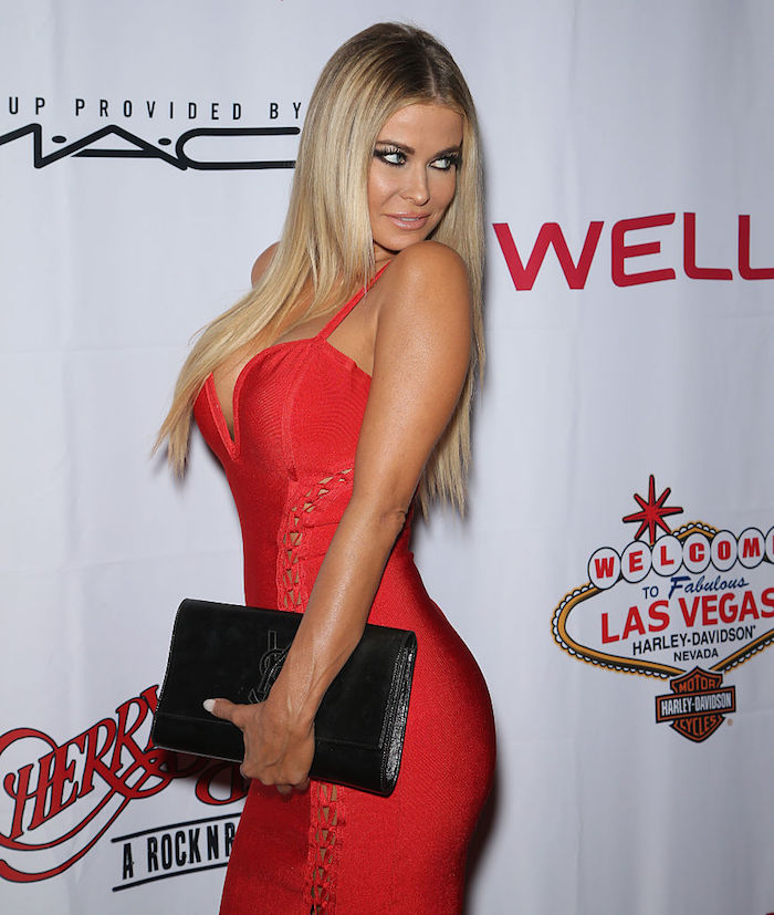 "LAS VEGAS, NV - SEPTEMBER 29: Actress Carmen Electra attends the grand opening of ""Cherry Boom Boom"" at the Tropicana Las Vegas on September 29, 2016 in Las Vegas, Nevada. (Photo by Gabe Ginsberg/Getty Images)"