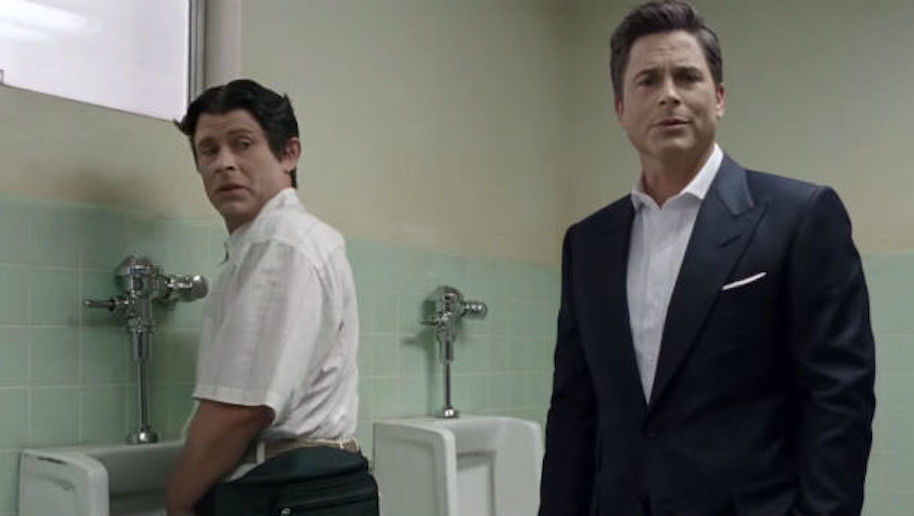 So if the urinals are all in use and you don't want to stand so close to  another man with your wiener exposed, there's no shame taking a leak in a  stall.