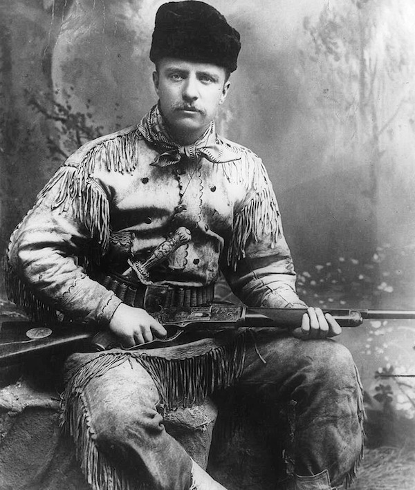 Photograph of Theodore Roosevelt 1898 (Photo by: Universal History Archive/UIG via Getty images)