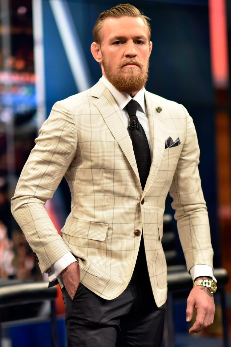 Conor McGregor suit