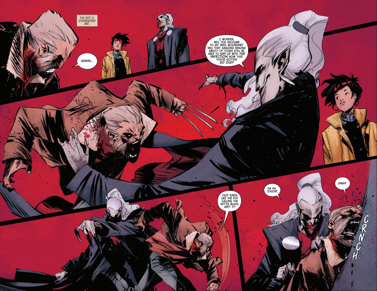 Old Man Logan 15 pages 2 and 3
