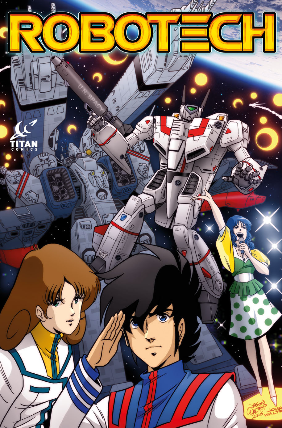 Robotech_Cover - Waltrip Brothers Cover