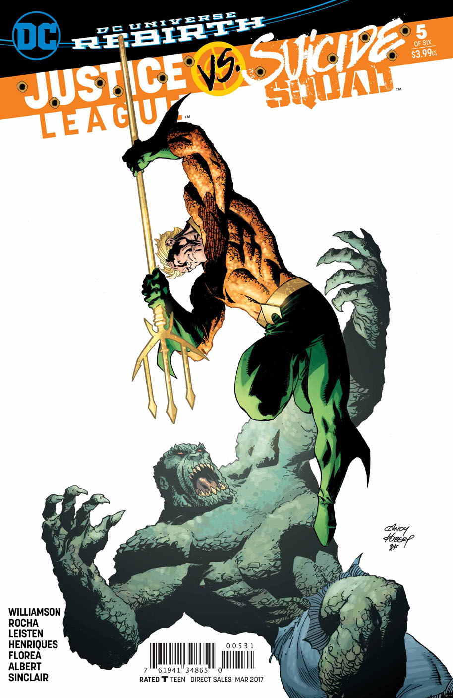 Justice League vs Suicide Squad 5 Andy Kubert cover