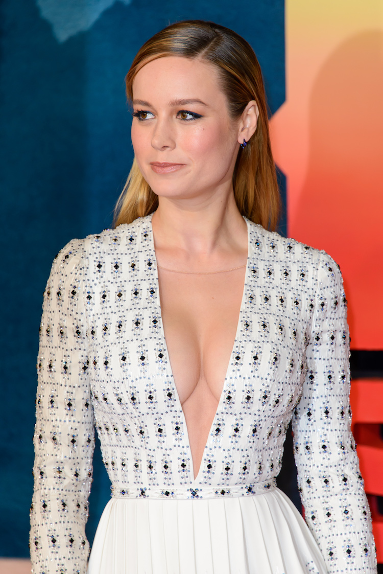 Cleavage Brie Larson nude photos 2019