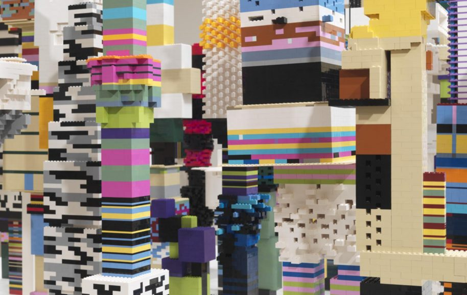 Douglas Coupland, Towers, 2014, courtesy of Daniel Faria Gallery