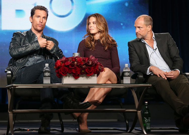 Matthew McConaughey, Michelle Monaghan, and Woody Harrelson