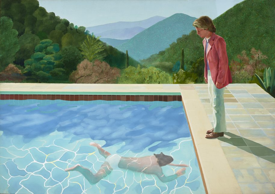 David Hockney Portrait of an Artist (Pool with Two Figures) 1971 Private Collection© David Hockney. Courtesy of Tate Britain.