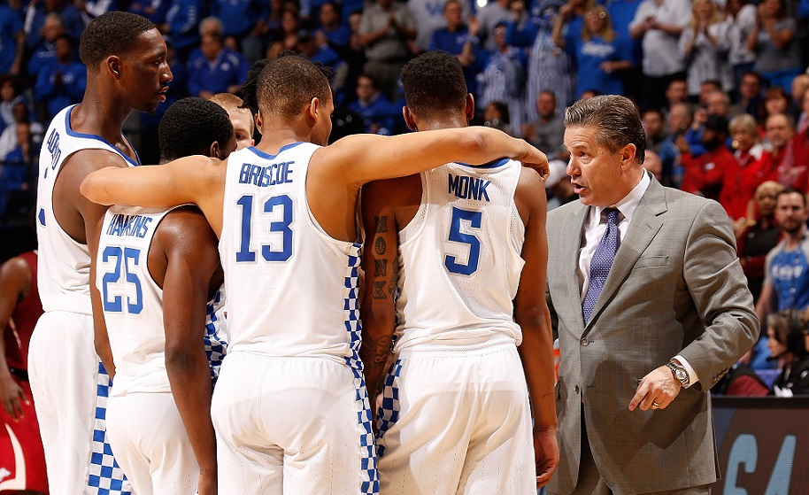 Kentucky has an embarrassment of riches when it comes to talent, but don't bank on them this year according to Brad.