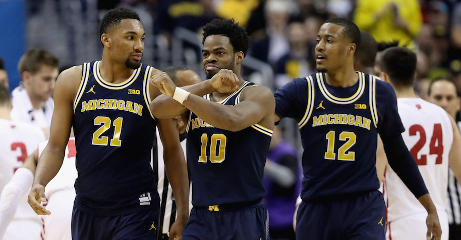 Although they're a No. 7 seed, watch out for the Michigan Wolverines as a potential cinderella, a team who just won the Big 10 Tournament.