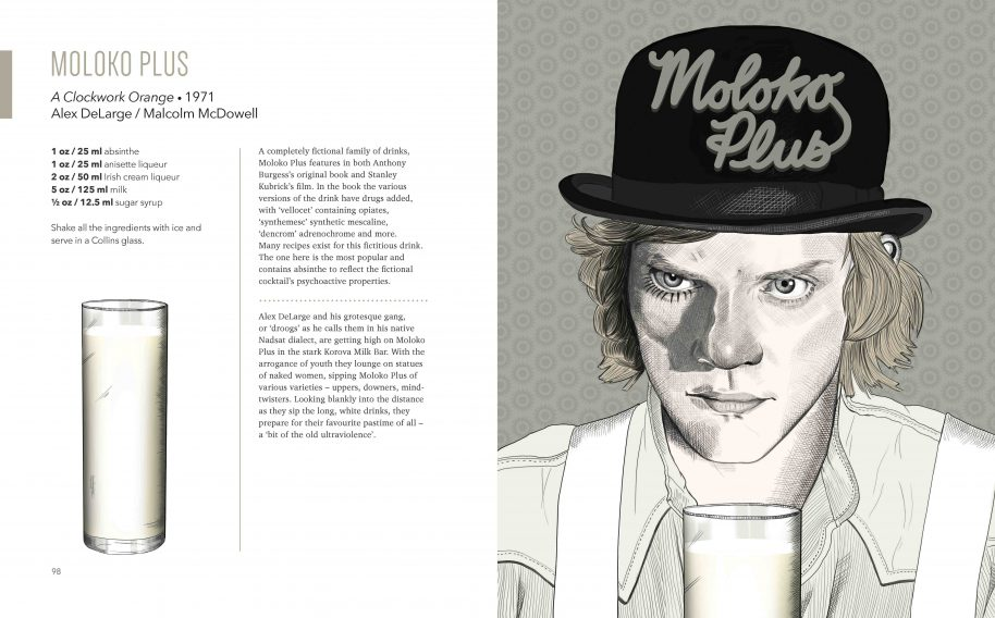 Moloko Plus / A Clockwork Orange, 1971 Alex DeLarge / Malcolm McDowell © Stacey Marsh