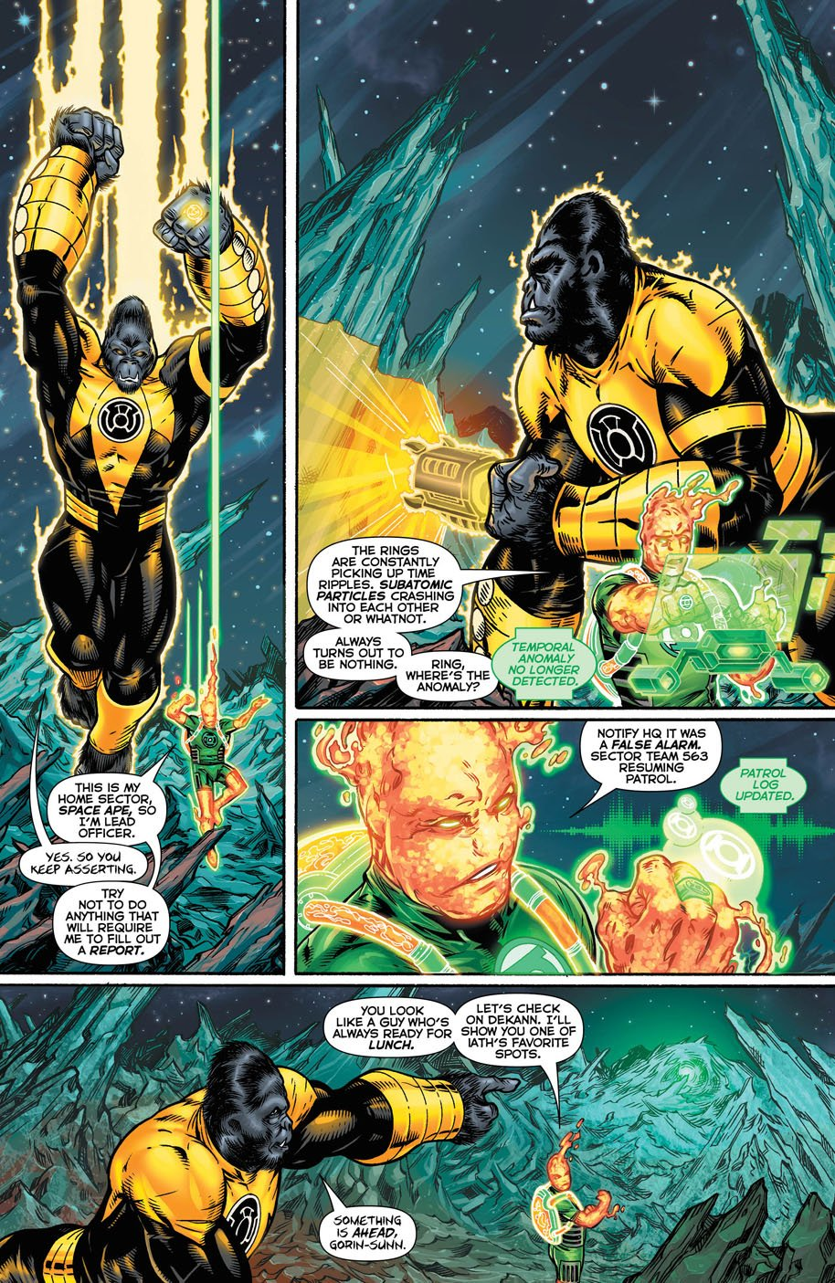 Hal Jordan and the Green Lantern Corps 18 page 2