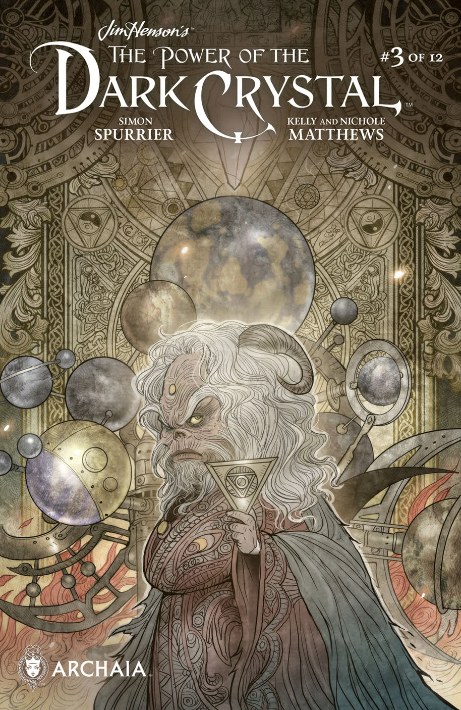 The Power of the Dark Crystal 3 cover 2