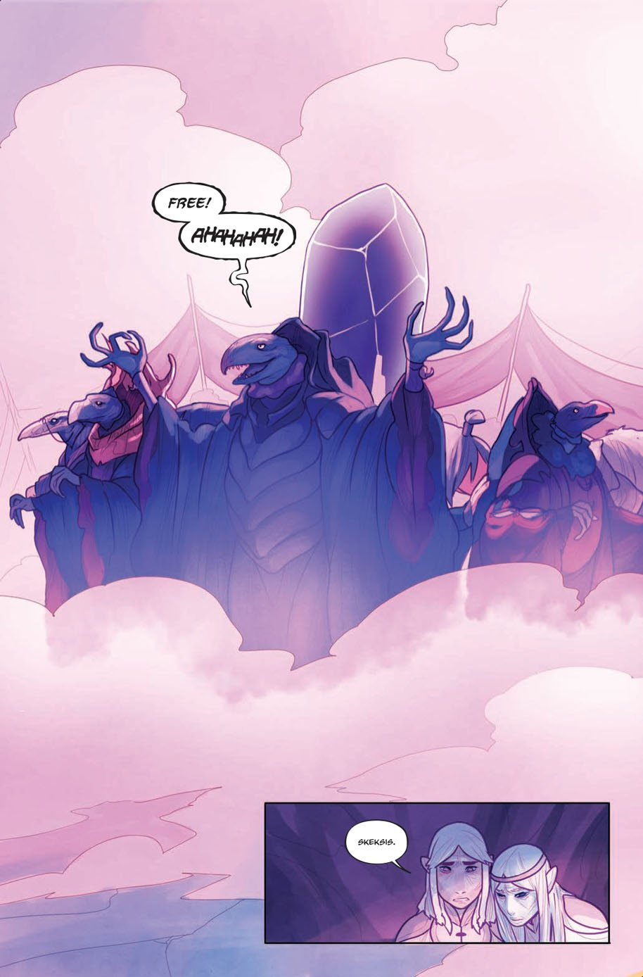 The Power of the Dark Crystal 3 page 4