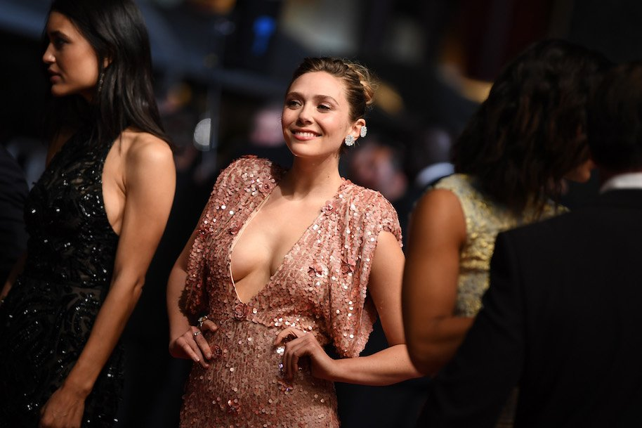 Elizabeth Olsen And Her Cleavage Were The Stars At Cannes