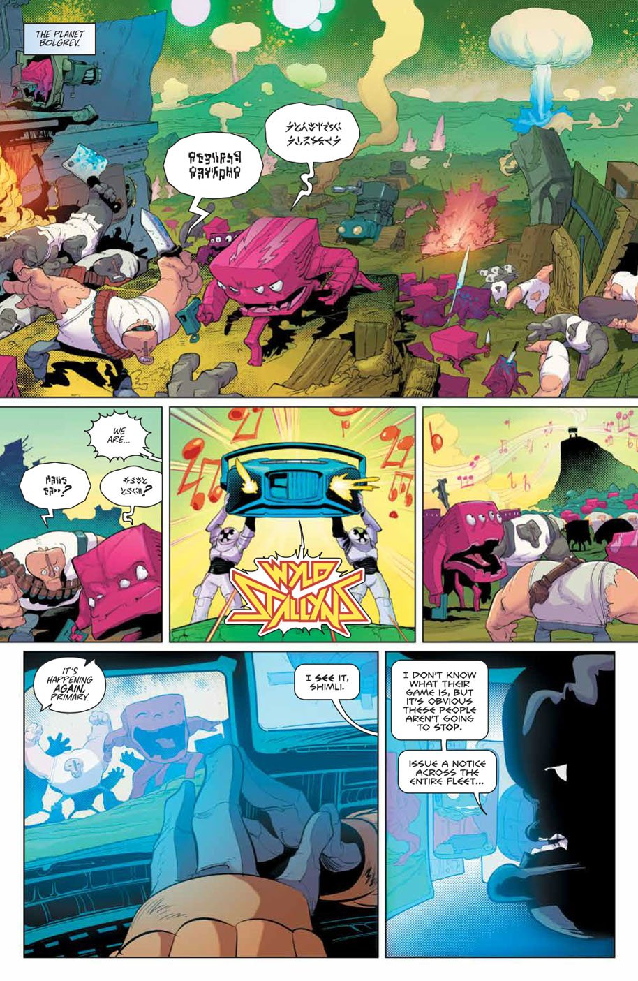Bill & Ted Save the Universe 1 page 1