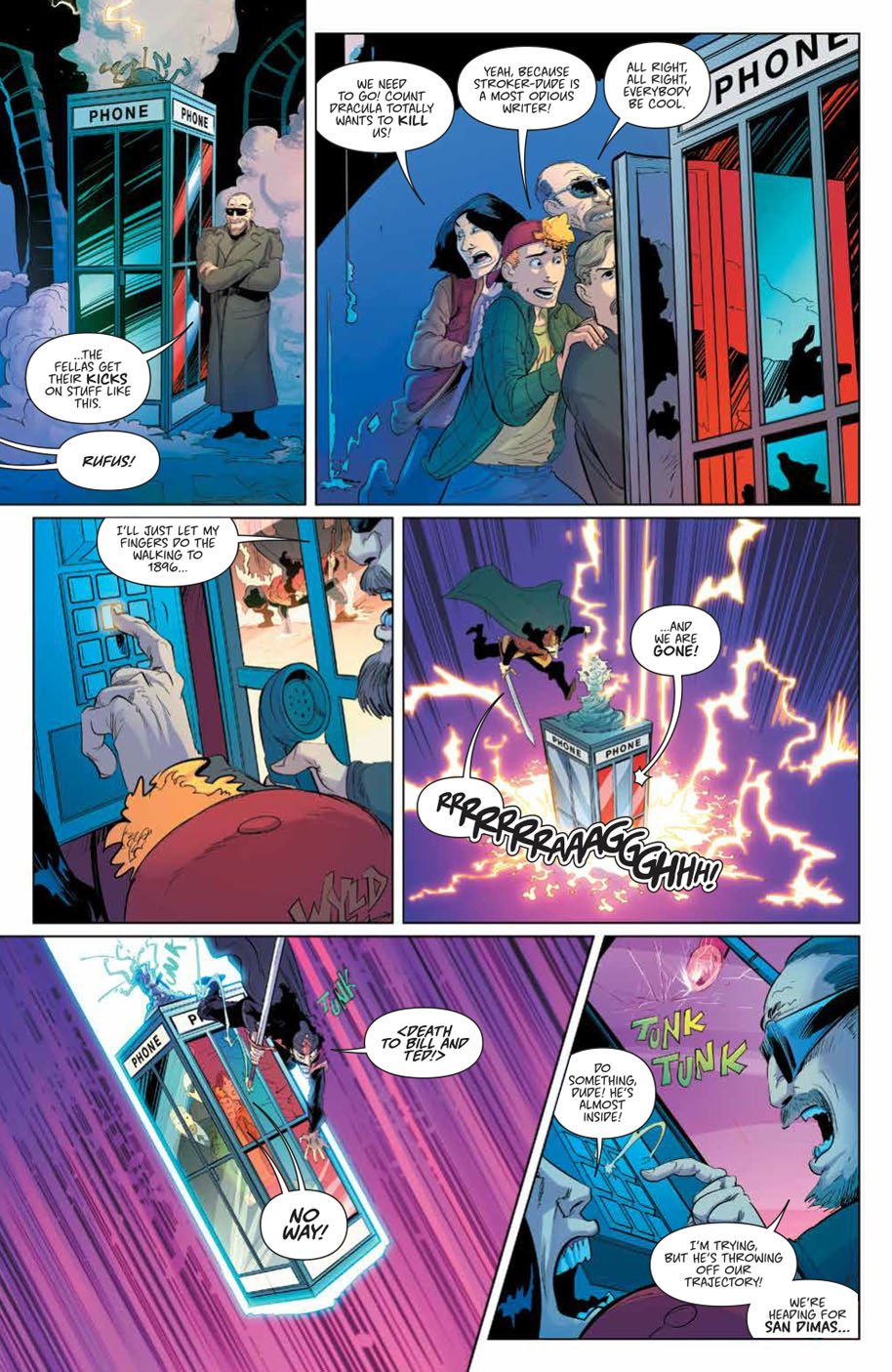 Bill & Ted Save the Universe 1 page 4
