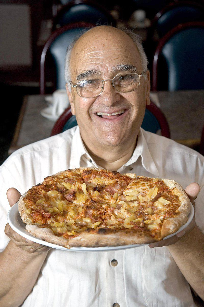 hawaiian pizza inventor passes away, sam panopoulos