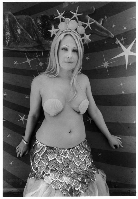 Mermaid Wearing Clamshells, 2010. © Harvey Stein 2011.