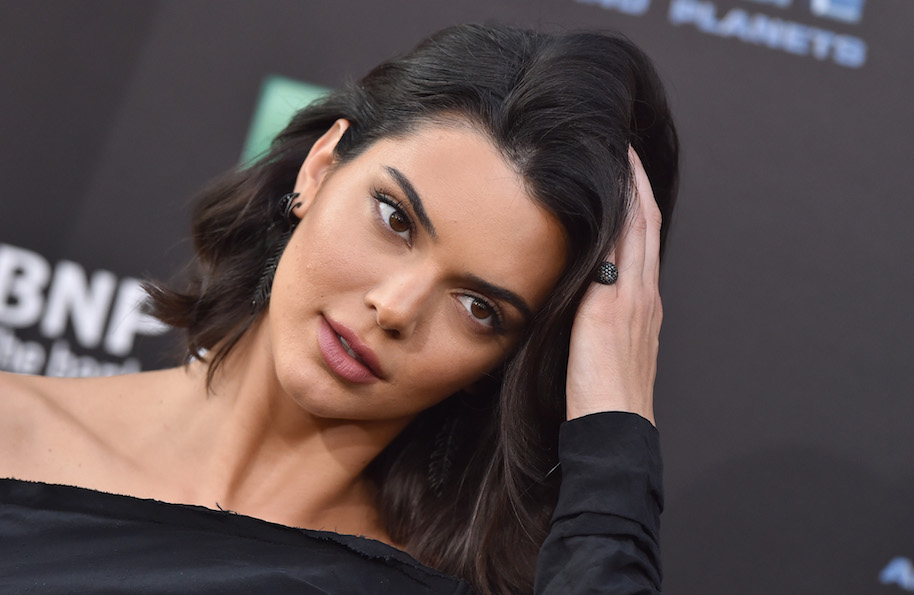Kendall Jenner poses nude